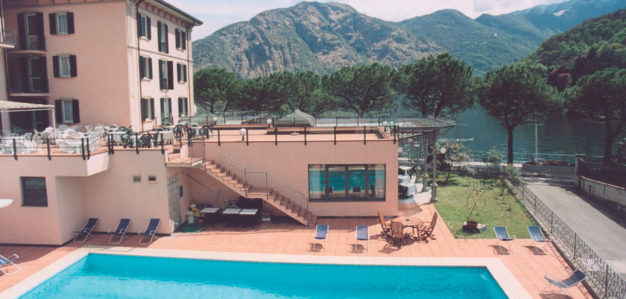Lenno Hotel, Lenno, Lake Como, Italy - Hotel exterior with pool.jpg